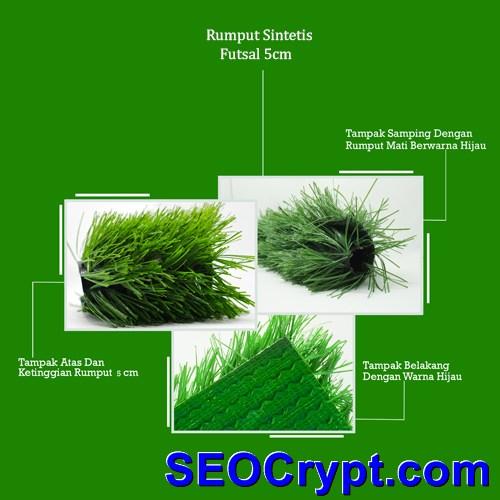 rumput sintetis futsal 5cm