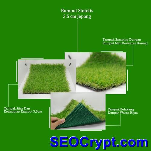 rumput sintetis jepang 3,5cm
