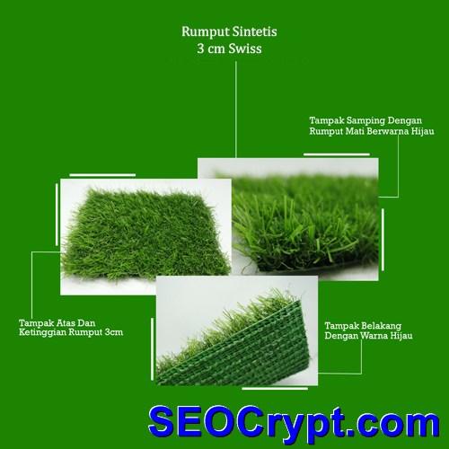 rumput sintetis swiss 3 cm